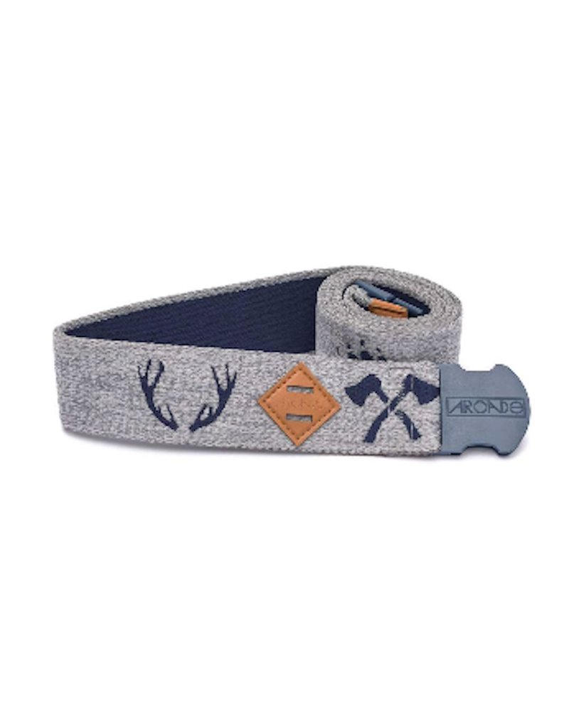Arcade Belts Arcade The Buckskin Belt Navy/Grey Weather Proof
