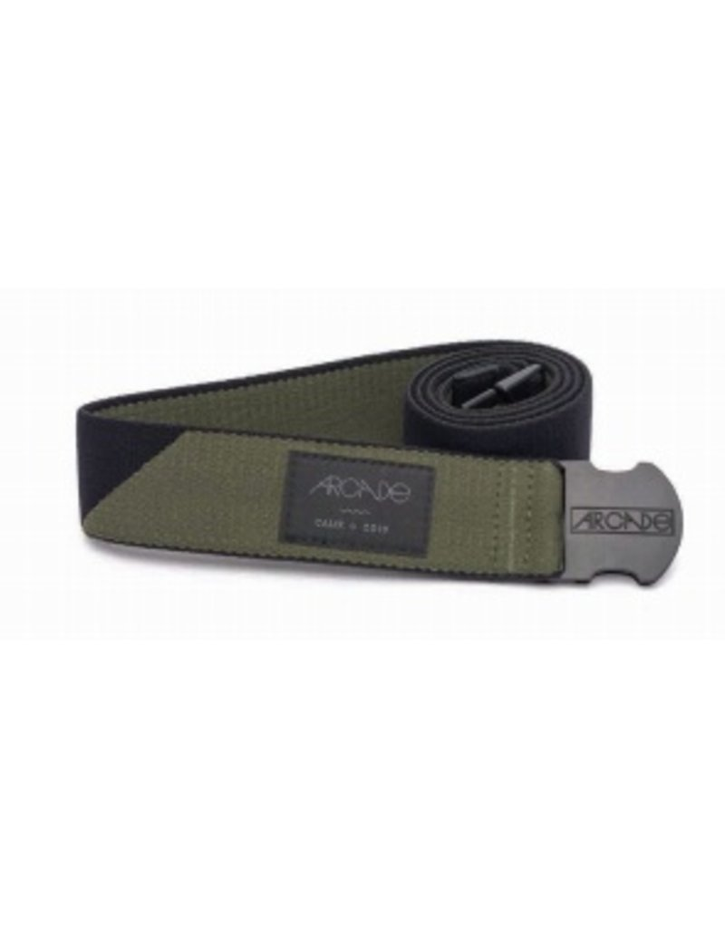Arcade Belts Arcade Belts The Cornerstone Black/Green OSFA Weather Proof
