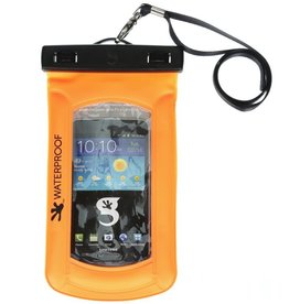 Geckobrands Geckobrands Waterproof and Float iPhone/Mobile Phone Dry Bag Orange