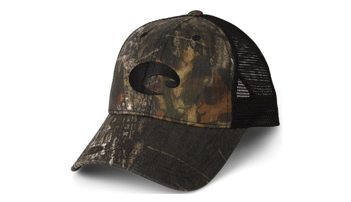 COSTA Costa Del Mar Mesh Hat Mossy Oak New Breakup/Black
