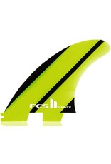 FCS FCS II Carver Neo Glass Tri-Quad Set 5 Fins Surfboard Large