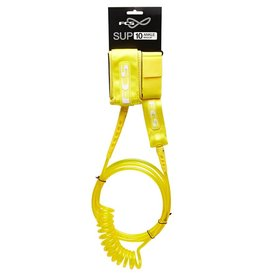 FCS FCS 10FT SUP Regular Leash Ankle Taxi Cab Yellow