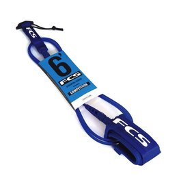 FCS FCS 6FT Premium Competition Shortboard Blue Glass Surfboard Leash