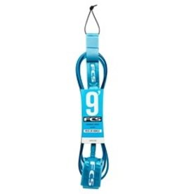 FCS FCS Longboard Regular Ankle Surfboard Leash 9' Teal