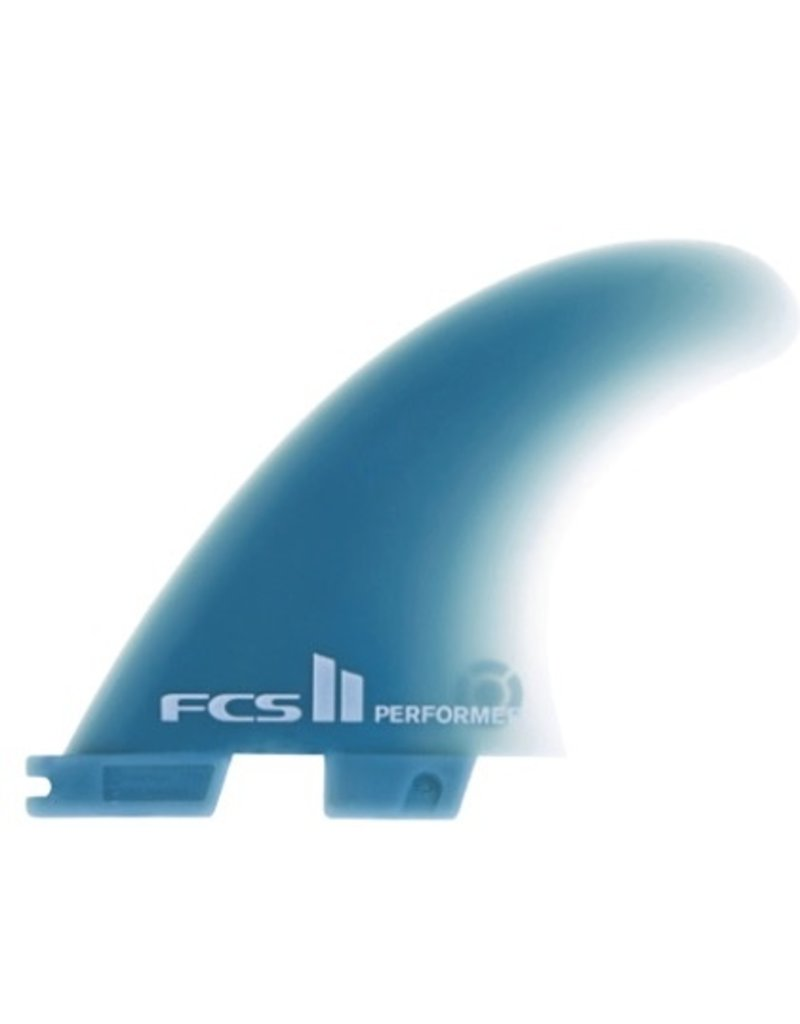 FCS FCS II Performer GF Tri Set Medium Thruster Surfboard Fins Stock