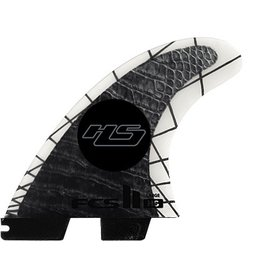 FCS FCS II HS PCC Tri Set Large Thruster Surfboard Fins Hayden Shapes
