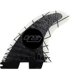 FCS FCS II HS PCC Tri Set Large Thruster Surfboard Fins Hayden Shapes