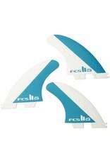 FCS FCS II MF PC Tri Set Medium Thruster Surfboard Fins Mick Fanning