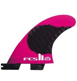 FCS FCS II GM PCC Tri Set Thrusters Surfboard Fins Grom X-Small Gabriel Medina
