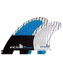 FCS FCS II Performer PC Carbon Quad Set Small Surfboard Fins