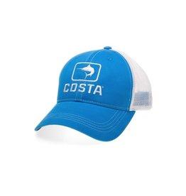 COSTA Costa Del Mar Marlin Trucker Hat Costa Blue/White