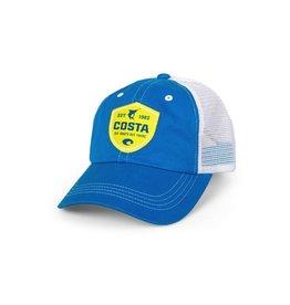 COSTA Costa Del Mar Shield Trucker Hat Costa Blue