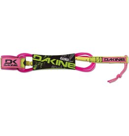 "Dakine Dakine Kainui Team 6' x 1/4"" Pink Surfboard Leash"