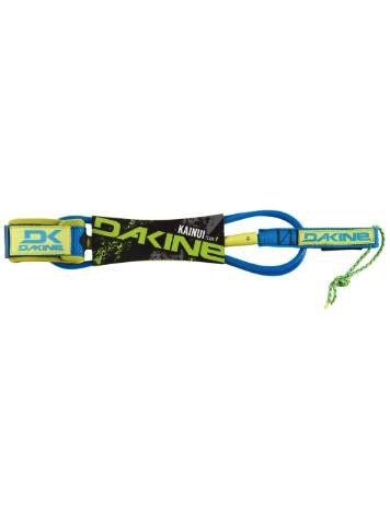 "Dakine Dakine 7'x1/4"" Kainui Team Surfboard Leash Neon Blue Surfing"