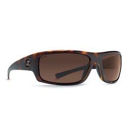 Von Zipper Von Zipper Scissorckick Tortoise Wildlife Bronze Polarized Sunglasses