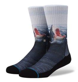 Stance Stance Landlord Socks Mens Great White Shark