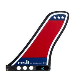 "FCS FCS II Slater Trout SUP Fin 8.5"" Dual Purpose Race & Surf"