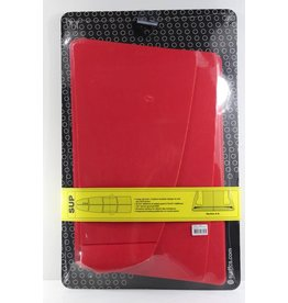 FCS FCS SUP Grip Fire Engine Red Dimples