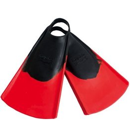 Hydro Hydro Originals v2 Fin Black Red Small Size 5-7