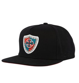 NHS INDEPENDENT / MOUNTAIN SHIELD ADJUSTABLE SNAPBACK HAT BLACK