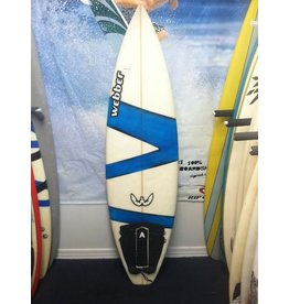 "Used Surfboards Used Webber 5'8"" Shortboard"