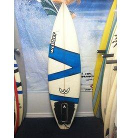 "Used Surfboards Used Webber 5'8"" Shortboard"