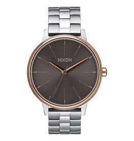 Nixon Nixon Kensington Watch Silver / Rose Gold / Taupe Womens