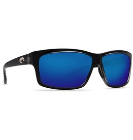 COSTA Costa Del Mar Cut Squall Blue Mirror Polarized Glass Sunglasses