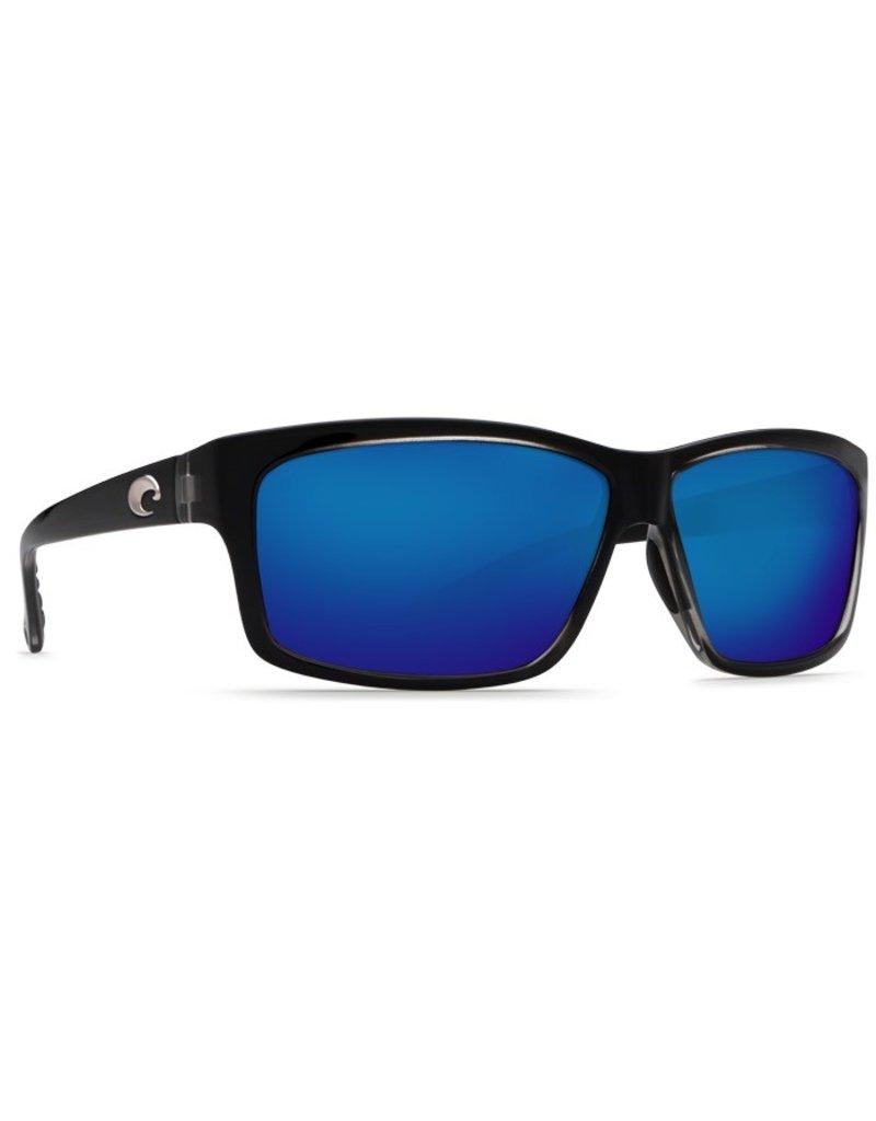 COSTA Costa Del Mar Cut Squall Blue Mirror Polarized Glass Sunglasses