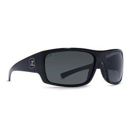 Von Zipper VonZipper Suplex Sunglasses Black Gloss Wildlife Vintage Grey Polarized