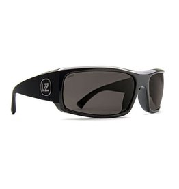 Von Zipper Vonzipper Kickstand Polarized Sunglasses SMPF5KIC-PBV Black Gloss Wildlife Vintage Gray