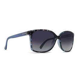 Von Zipper Vonzipper Castaway Womens Sunglasses Navy Tortoise Cloud Crystal Blue Gradient SJJF1CAS-NTB