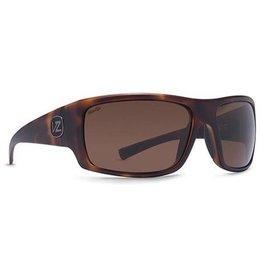 Von Zipper VonZipper Suplex Polarized Sunglasses Tortoise Wildlife Bronze