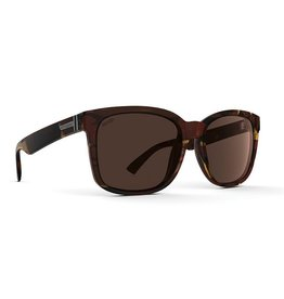 Von Zipper VonZipper Howl Polarized Sunglasses Tobacco Tortoise Wildlife Bronze