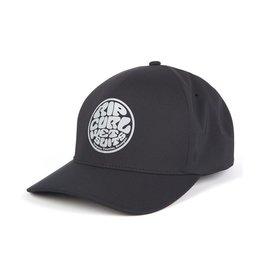 Rip Curl Rip Curl Rubber Soul Delta Flexfit Hat Black