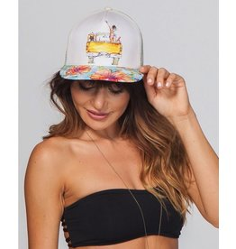 Rip Curl Rip Curl Island Kiss Trucker Hat Womens GCAHL1