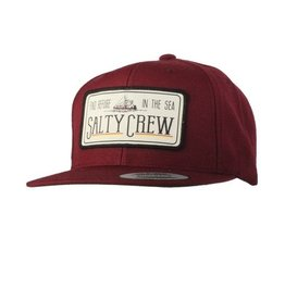 Salty Crew Salty Crew TRAWLER PATCHED HAT Burgundy