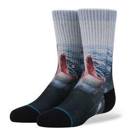 Stance Stance Sea Wolf Socks Kids Size M 11-1 Great White Shark