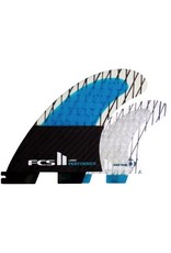 FCS FCS II Performer PC Carbon Quad Set Medium Surfboard Fins