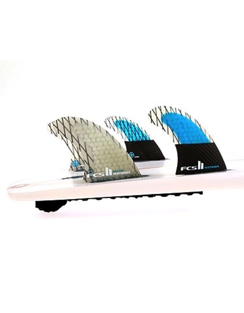 FCS FCS II Performer PC Carbon Quad Set Medium Surfboard Fins