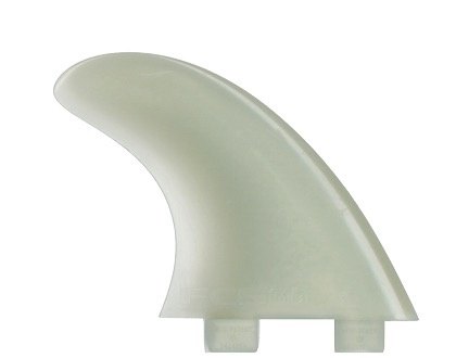 FCS FCS M-3 Tri Set Natural Glass Flex Tri Fin Set Unpackaged 3 Surfboard Fins