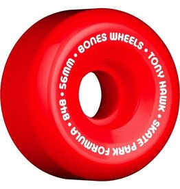 Skate One BONES WHEELS SPF Pro Hawk Mini Cube 56mm Red(4pack)