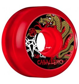 Skate One BONES WHEELS Caballero Dragon Wheel SPF Clear Red 58mm 4pk