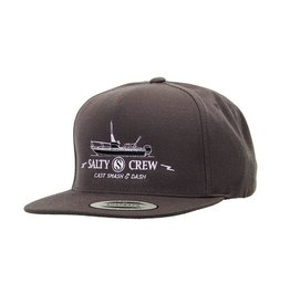 Salty Crew Salty Crew DASH HAT 5 PANEL Charcoal