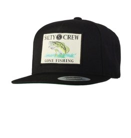 Salty Crew Salty Crew BIG MOUTH HAT 5 PANEL Black