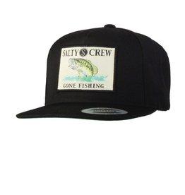 Salty Crew Salty Crew BIG MOUTH HAT 5 PANEL Black