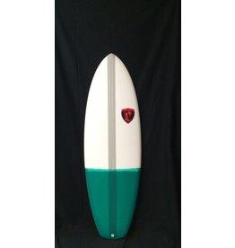 """Cronin Surfboards Cronin Surfboards 5'10"""""""" Lance No Stringer Epoxy Carbon Resin Color 5 Fin FCS II"""