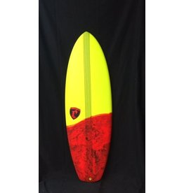 """Cronin Surfboards Cronin Surfboards 5'8"""" Lance No Stringer Epoxy Carbon Resin Color 5 Fin FCS II"""