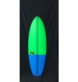 """Cronin Surfboards Cronin Surfboards 6'0 """" Lance No Stringer Epoxy Carbon Resin Color 5 Fin FCS II"""
