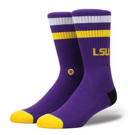 Stance Stance NCAA LSU Logo Socks Mens